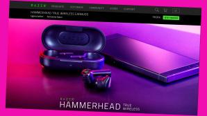 Online-Gutschein für das Razer Hammerhead True Wireless Earbuds©Screenshot www.razer.com