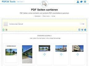 PDF-Seiten sortieren
