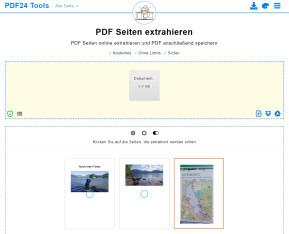 PDF-Seiten extrahieren