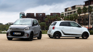 EQ fortwo & EQ forfour © Smart