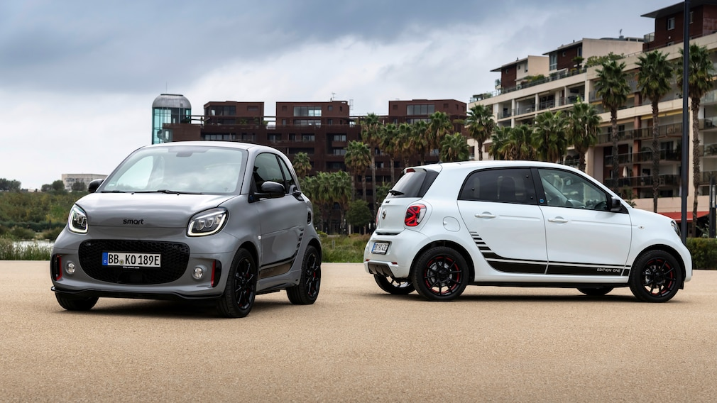 EQ fortwo & EQ forfour
