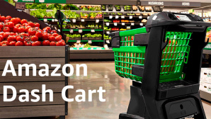 Amazon Dash Cart © Amazon
