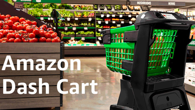 Amazon Dash Cart©Amazon