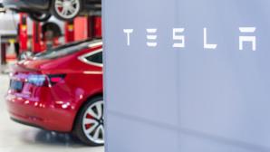 Tesla-Logo©dpa-Bildfunk