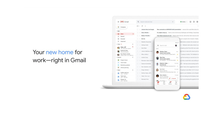 Neues Gmail Design © Google/Google Watch Blog