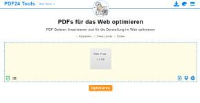 PDF optimieren