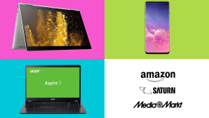Amazon, Media Markt, Saturn: Die Top-Deals des Tages! © Amazon, Media Markt, Saturn, HP, Acer, Samsung