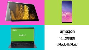 Amazon, Media Markt, Saturn: Die Top-Deals des Tages!©Amazon, Media Markt, Saturn, HP, Acer, Samsung