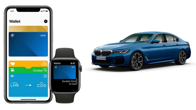 Apple CarKey © BMW