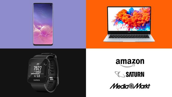 Amazon, Media Markt, Saturn: Die Top-Deals des Tages!©Amazon, Media Markt, Saturn, Samsung, Garmin, Honor