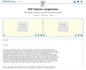 PDFs vergleichen