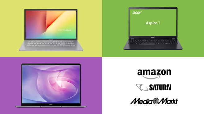 Amazon, Media Markt, Saturn: Die Top-Deals des Tages! © Amazon, Media Markt, Saturn, Huawei, Asus, Acer