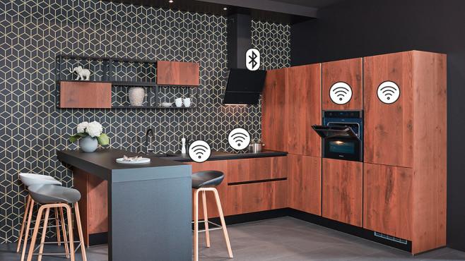 Die Küche der Gegenwart: smart, stark, stilsicher©Samsung