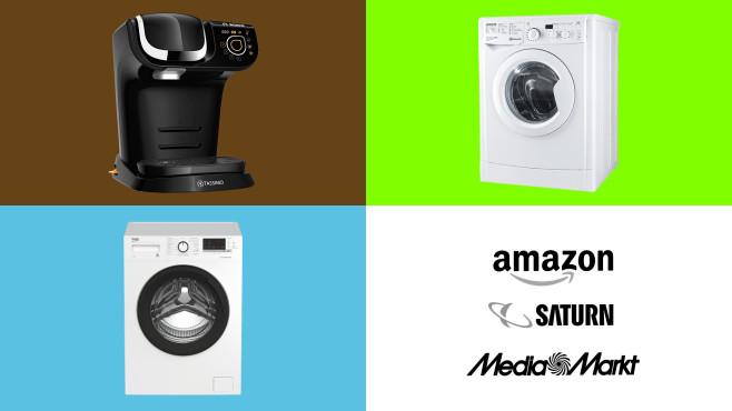Amazon, Media Markt, Saturn: Die Top-Deals des Tages!©Amazon, Media Markt, Saturn, Bosch, Bauknecht, Beko