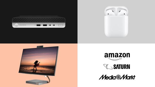 Amazon, Media Markt, Saturn: Die Top-Deals des Tages!©Amazon, Saturn, Media Markt, HP, Lenovo, Apple