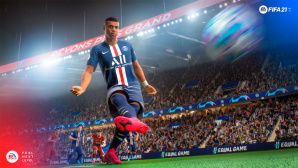 Szene mit Kylian Mbappe aus FIFA 21©Electronic Arts