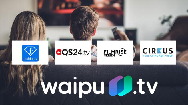 Waipu.tv mit neuen Sendern©waipu.tv, iStock.com/skynesher