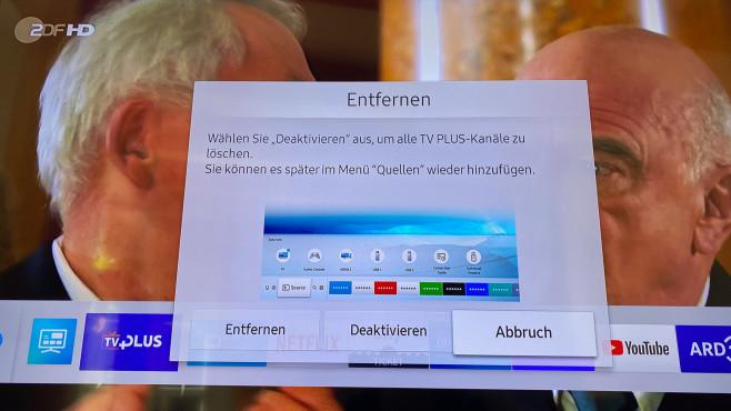 TV Plus deaktivieren©COMPUTER BILD