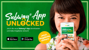Subway App Unlocked © Subway Deutschland