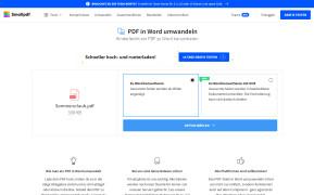 PDF zu Word konvertieren