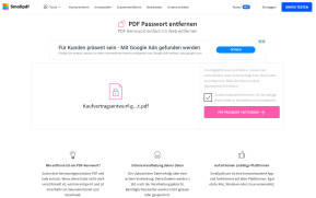 PDF-Kennwort entfernen
