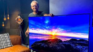 """Der LG OLED CX ist der günstigste Fernseher mit dem Testergebnis """"sehr gut"""" bei COMPUTER BILD.©COMPUTER BILD"""