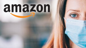 Amazon mit Masken-Angebot©Amazon, iStock.com/valentinrussanov