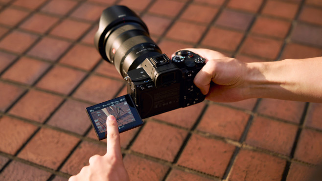 Sony Alpha 7S III: Display©Sony