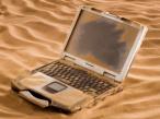 """Unverwüstlich: Panasonic Toughbook CF-30 Hier gelangt kein Sand ins Getriebe: """"Panasonic Toughbook CF-30"""""""
