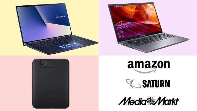 Amazon, Media Markt, Saturn: Die Top-Deals des Tages!©Amazon, Saturn, Media Markt, Asus, Western Digital