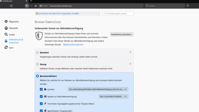 Anonym surfen: IP verschleiern per Proxy und VPN – die besten Programme Die Non-Profit-Organisation hinter Firefox, Mozilla, profiliert sich seit Längerem mit einem Browser, der datensparsam online geht. Die Firefox-Version 85 baute das noch einmal aus.©COMPUTER BILD