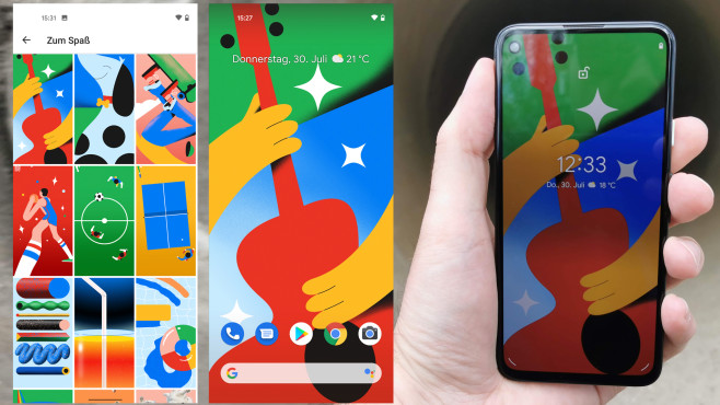Google Pixel 4a©COMPUTER BILD / Michael Huch