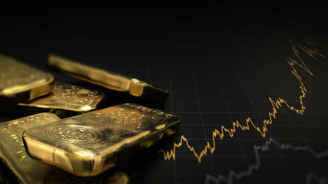 Gold-Aktie: Wie Sie mit Wertpapieren am Goldrausch partizipieren Der Goldpreis im Höhenrausch: Lohnt sich der Einstieg?©iStock.com/goldbarren