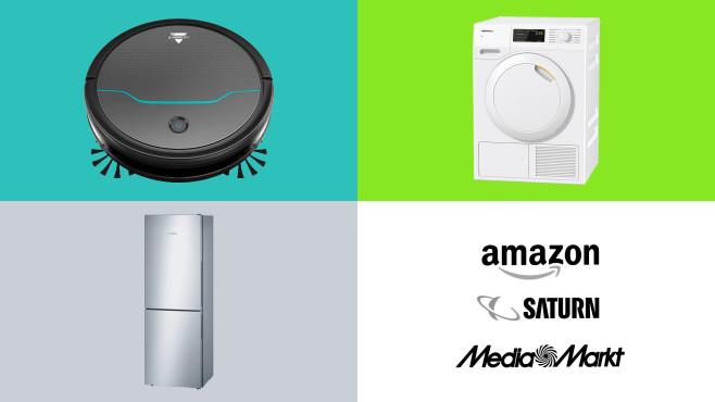 Amazon, Media Markt, Saturn: Die Top-Deals des Tages!©Amazon, Saturn, Media Markt, Bosch, Miele, Bissell