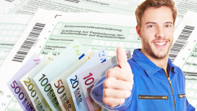 10 Steuer-Spar-Tipps für Angestellte©saschi79, Robert Kneschke, Tatjana Balzer - Fotolia.com