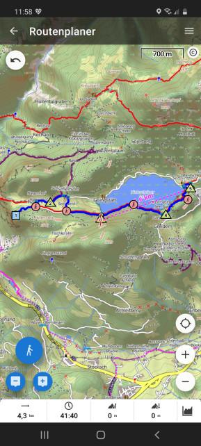 Locus Map Free (Android-App)