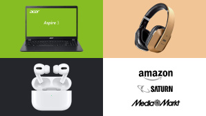 Amazon, Media Markt, Saturn: Die Top-Deals des Tages! © Amazon, Saturn, Media Markt, Acer, Apple, August