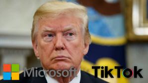 Nach Trump-Drohung: Microsoft streckt F�hler nach Tiktok aus©dpa-Bildfunk, Microsoft, ByteDance