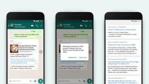 Kampf gegen Fake News: WhatsApp führt Websuche ein©WhatsApp