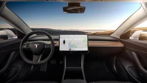 Tesla Model 3 Innenraum©Tesla