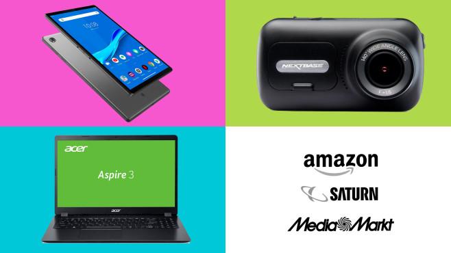Amazon, Media Markt, Saturn: Die Top-Deals des Tages!©Amazon, Saturn, Media Markt, Acer, Lenovo, Nextbase