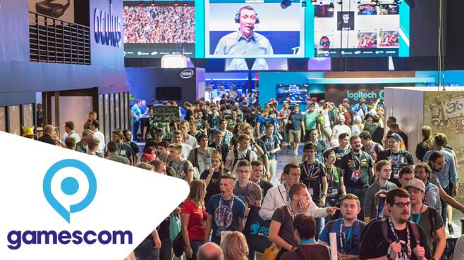 Besucher der Gamescom 2019©Gamescom