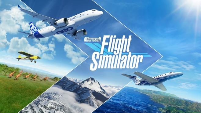 Szene aus Microsoft Flight Simulator©Microsoft
