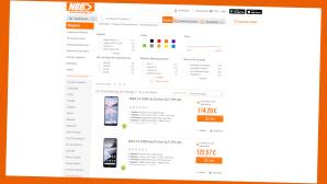 Notebooksbilliger.de: Lukrativer Spar-Deal zur 0%-Finanzierung©Screenshot Hersteller-Shop