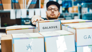 Galaxus-Logistikzentrum in Krefeld © Galaxus