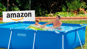 Aufstell-Pool © Amazon, Intex
