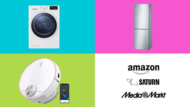 Amazon, Media Markt, Saturn: Die Top-Deals des Tages!©Amazon, Saturn, Media Markt, Eufy, LG, Bosch