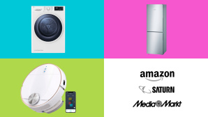 Amazon, Media Markt, Saturn: Die Top-Deals des Tages! © Amazon, Saturn, Media Markt, Eufy, LG, Bosch