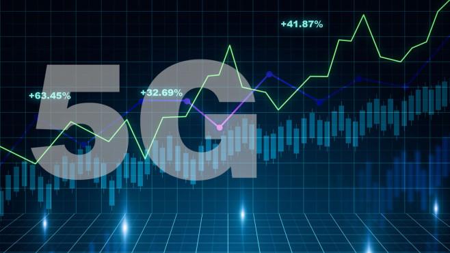 5G-Aktien: So investieren Sie in die neue Mobilfunktechnologie Die fünfte Generation: 5G wird das nächste große Geschäft im Mobilfunk.©iStock.com/Igor Kutyaev