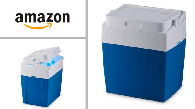 Kühlbox bei Amazon im Angebot: Eiskalt genießen! Amazon-Angebot: Aktuell ist beim Versandriesen die elektrische Kühlbox Mobicool MV30 auf Lager.©Amazon